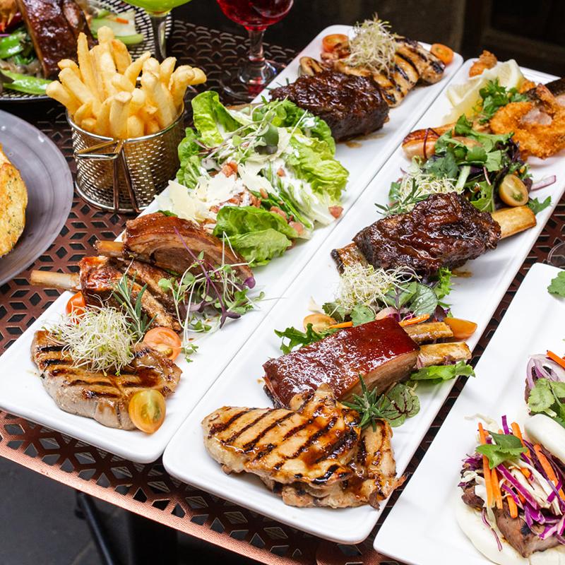 BBQ platters
